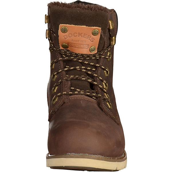 Dockers by Gerli, dunkelbraun Dockers by Gerli Stiefeletten, dunkelbraun Gerli,  Gute Qualität beliebte Schuhe 4f6068
