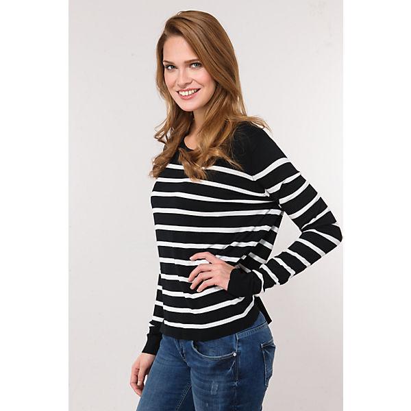 Pullover ONLY schwarz weiß weiß schwarz ONLY Pullover nq4qfS