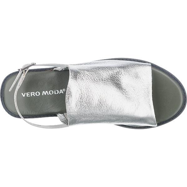 VERO MODA VERO MODA Trica Sandaletten silber