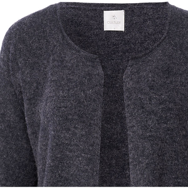 Strickjacke CULTURE blau CULTURE Strickjacke 80q5aw1