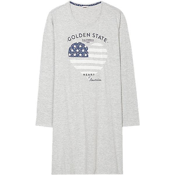 Nachthemd BODYWEAR Nachthemd Carley BODYWEAR ESPRIT Nachthemd ESPRIT BODYWEAR ESPRIT grau grau Carley wpxZFAxqO