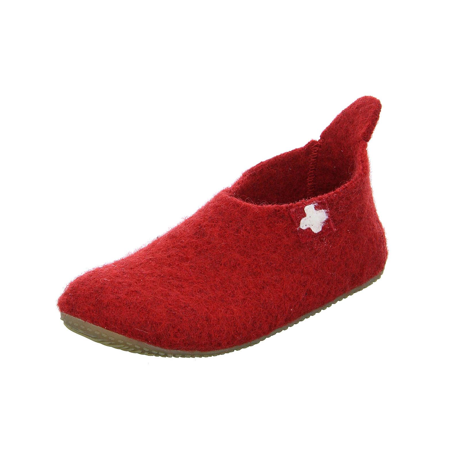 Living Kitzbühel Hausschuhe für Mädchen rot Mädchen Gr. 31