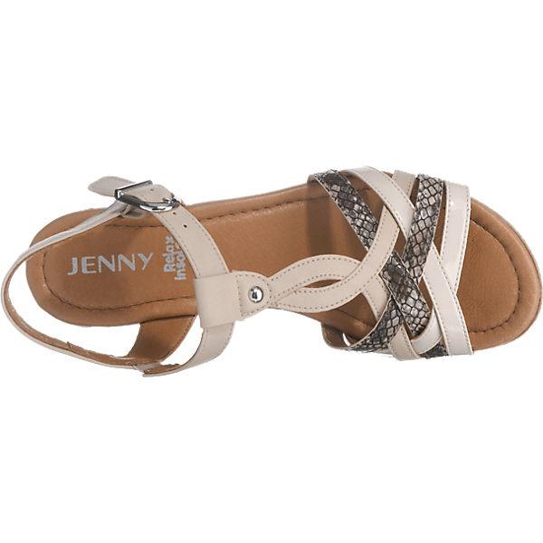 JENNY JENNY Riccione Sandaletten beige-kombi