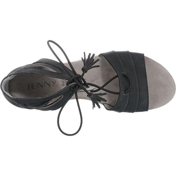 JENNY JENNY Cassis Sandaletten schwarz