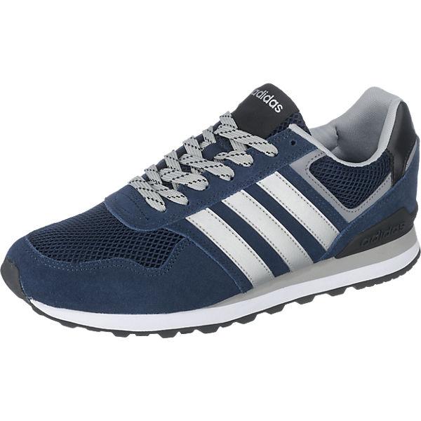 adidas sport inspired adidas neo 10k sneakers blau. Black Bedroom Furniture Sets. Home Design Ideas