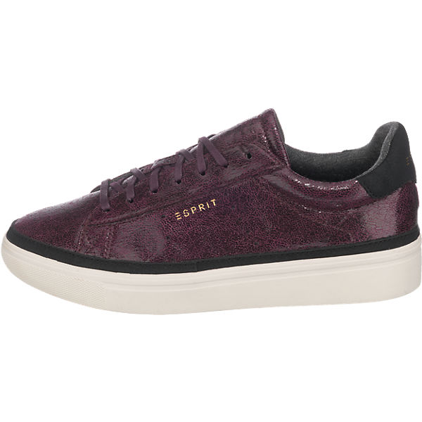 ESPRIT ESPRIT Lizette Lace Up Sneakers bordeaux