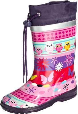 elefanten, Gummistiefel JALOPPY für Mädchen, rosa