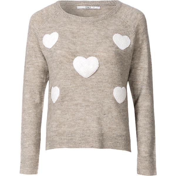 ONLY Pullover Pullover Pullover beige ONLY beige beige ONLY Pullover ONLY YIgHqwnx5d