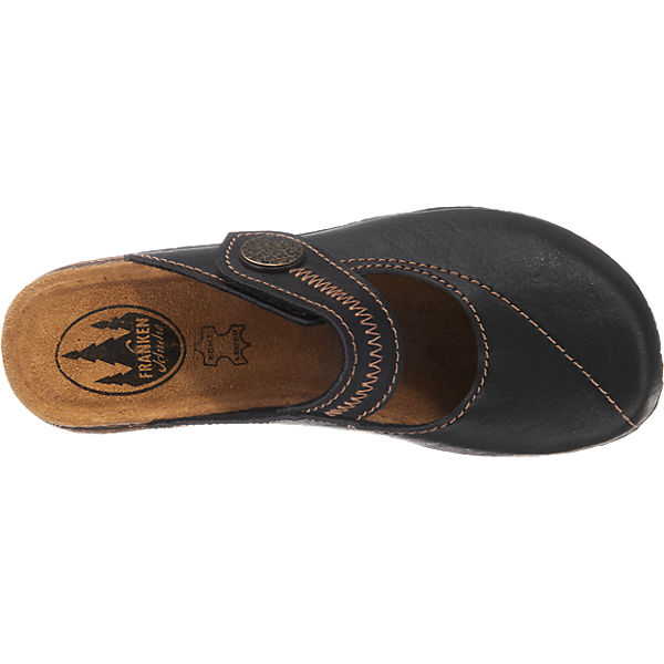 Franken-Schuhe Franken-Schuhe Pantoletten schwarz