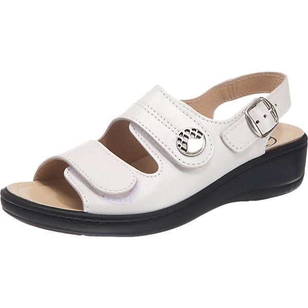Franken-Schuhe Franken-Schuhe Sandalen weiß