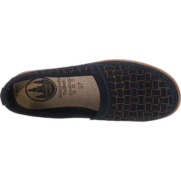 Franken-Schuhe Franken-Schuhe Slipper blau