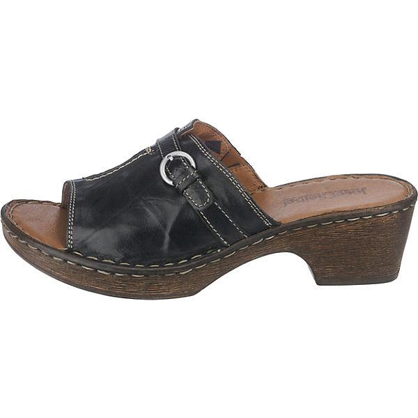 Josef Seibel, Rebecca 21 Qualität Pantoletten, schwarz  Gute Qualität 21 beliebte Schuhe da24b6