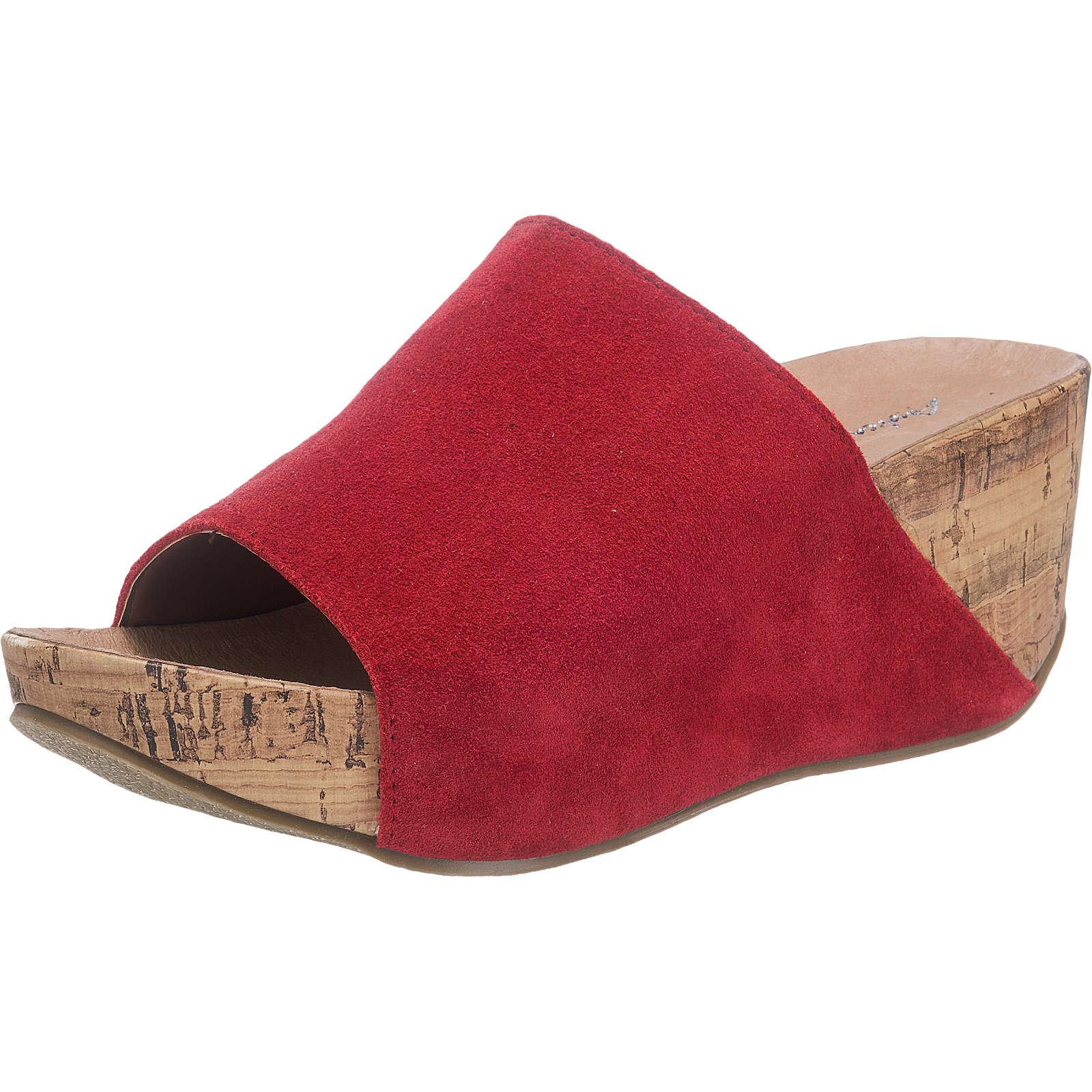 Andrea Conti Pantoletten rot Damen Gr. 37 jetztbilligerkaufen