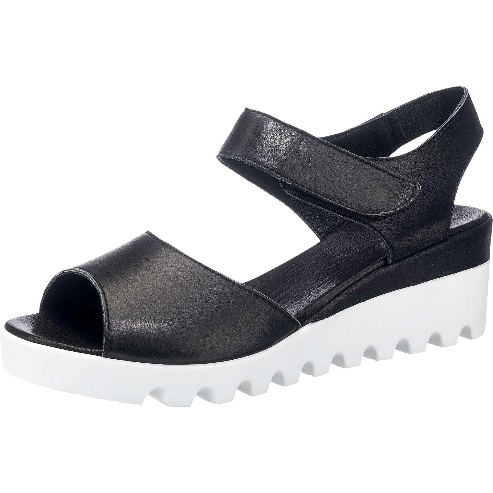 Andrea Conti Sandaletten schwarz Damen Gr. 37 jetztbilligerkaufen