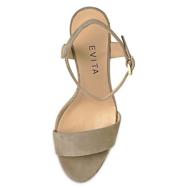 Evita Shoes, Shoes, Shoes, Evita Shoes Sandaletten, beige   7e2aac