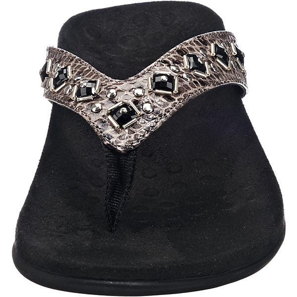 Vionic, Vionic, Vionic, 340FLORIANA Zehentrenner, grau  Gute Qualität beliebte Schuhe fadce9