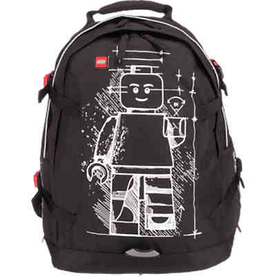Freizeitrucksack LEGO Tech Teen Backpack Glow in the Dark