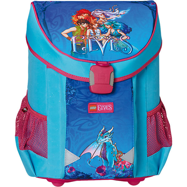 Schulranzenset LEGO EASY Elves, 3-tlg. - Kollektion 2017