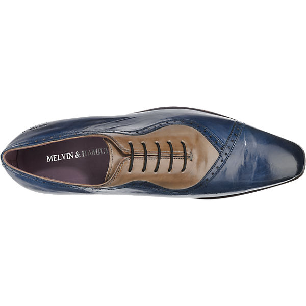 MELVIN Business & HAMILTON, MELVIN & HAMILTON Lance 16 Business MELVIN Schuhe, blau-kombi   d2557f