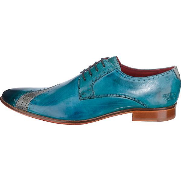 MELVIN & Gute HAMILTON, Toni 8 Business-Schnürschuhe, blau  Gute & Qualität beliebte Schuhe dbca0a