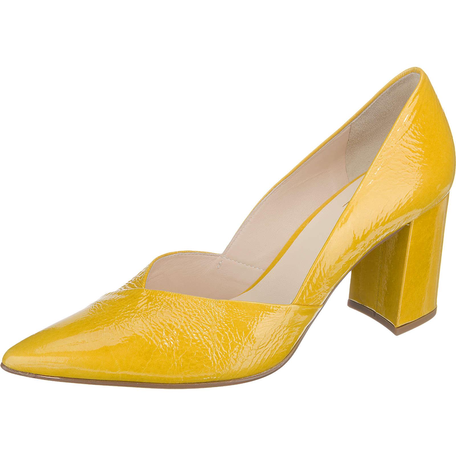 högl Pumps gelb Damen Gr. 37