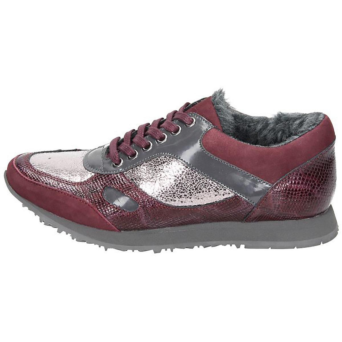 Piazza, Piazza Damen Sneaker Sneakers Low, Rot
