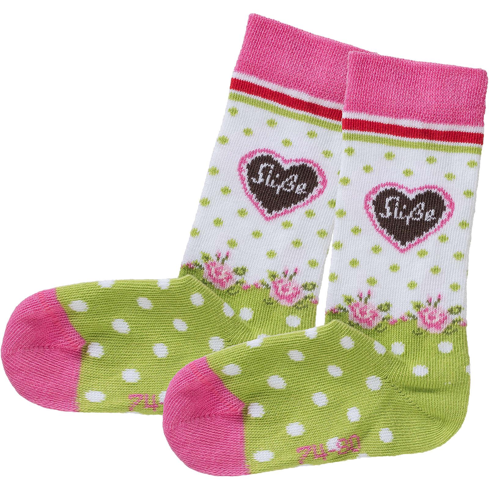 BONDI Kids Socken für Mädchen grün Mädchen Gr. ...