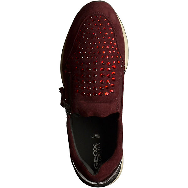 GEOX GEOX Sneakers bordeaux  Gute Qualität beliebte Schuhe