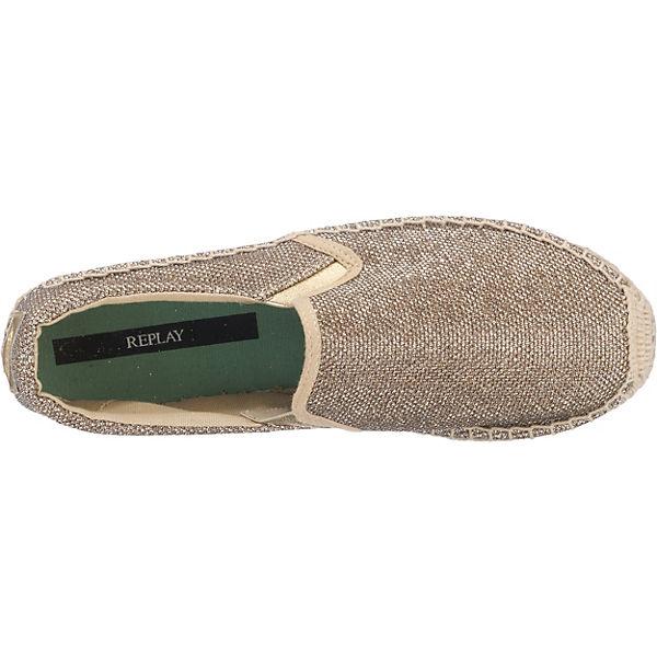 REPLAY, Lawton Espadrilles, gold  Gute Schuhe Qualität beliebte Schuhe Gute 843bc0
