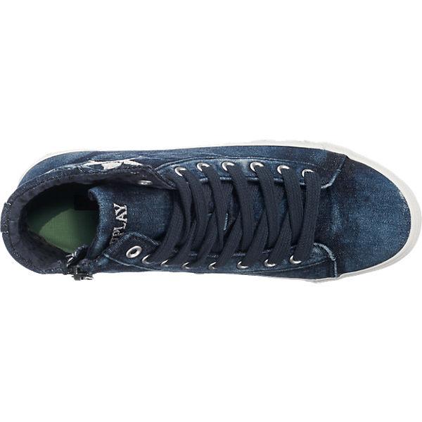 REPLAY REPLAY Wetley Sneakers blau-kombi