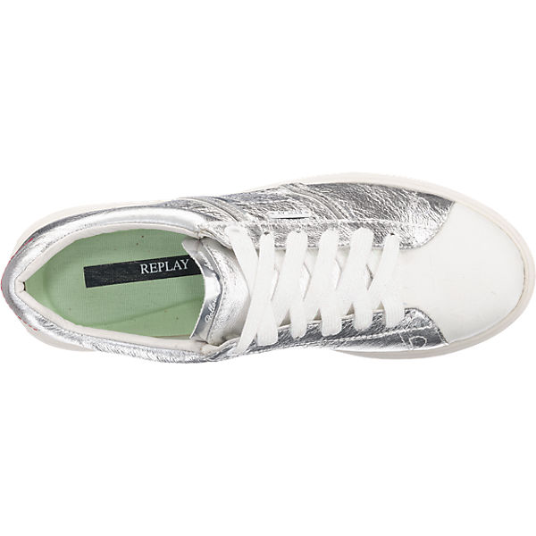 REPLAY REPLAY Lune Sneakers silber