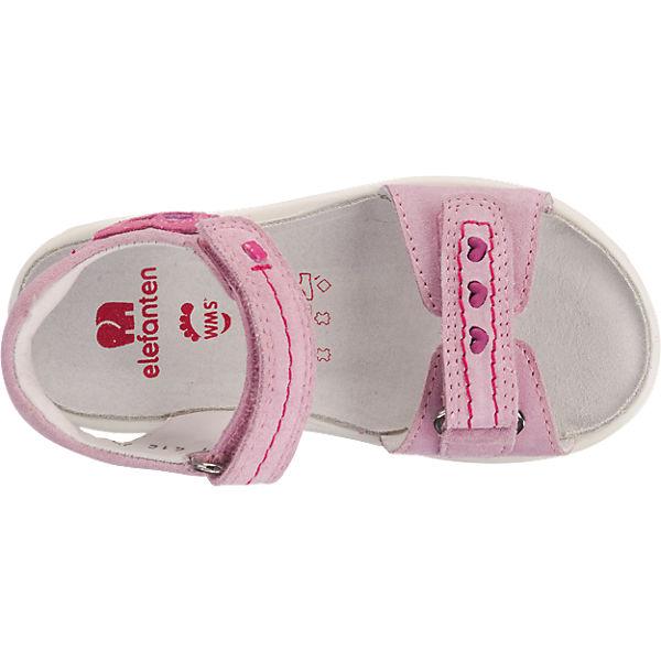 elefanten Sandalen ROSANA, Weite M, für Mädchen rosa