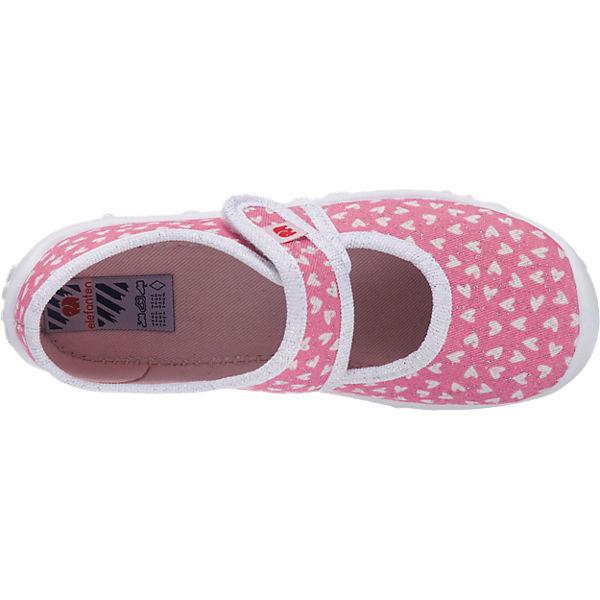 elefanten Hausschuhe PRETTY, für Mädchen pink