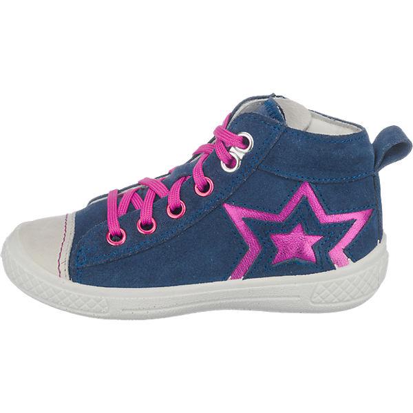 superfit Kinder Sneakers MERCURY, WMS-Weite M4 dunkelblau