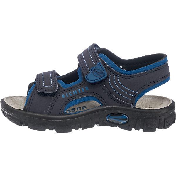 RICHTER Sandalen, Weite M, für Jungen dunkelblau