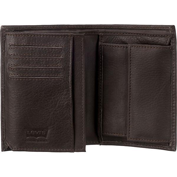 Levi's® 77173-0371 Geldbörse dunkelbraun
