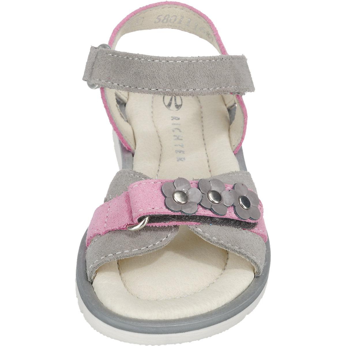 RICHTER, Sandalen für Mädchen, grau | mirapodo