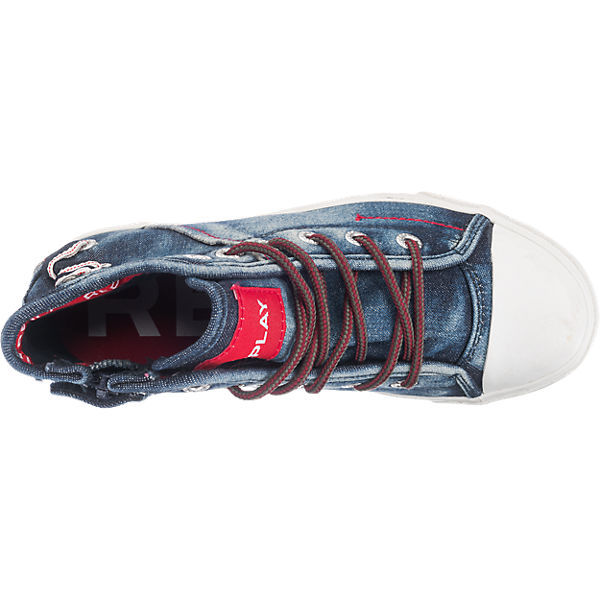 REPLAY Kinder Sneakers blau