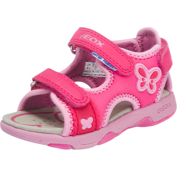 geox kinder sandalen pink mirapodo. Black Bedroom Furniture Sets. Home Design Ideas