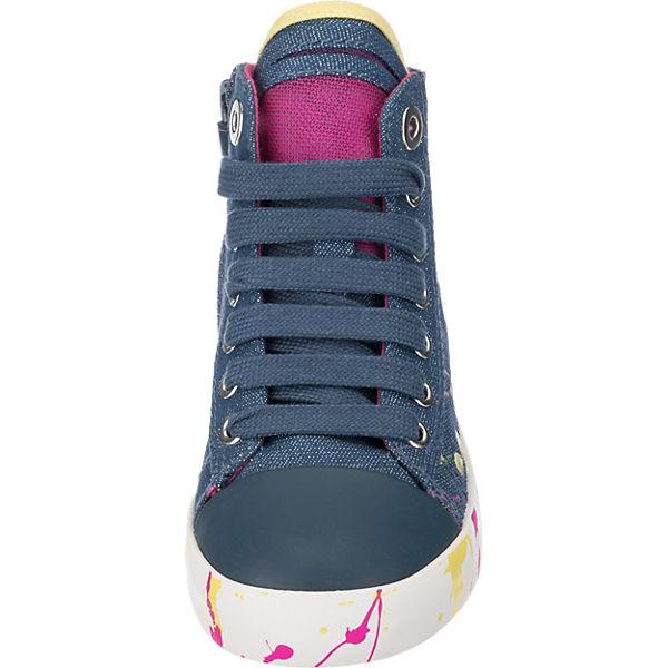 GEOX Kinder Sneakers blau-kombi