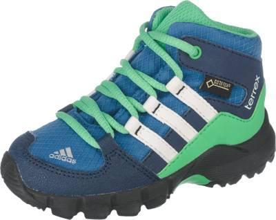 adidas Performance, Baby Outdoorschuhe TERREX MID GTX I für Jungen,  blau/grün