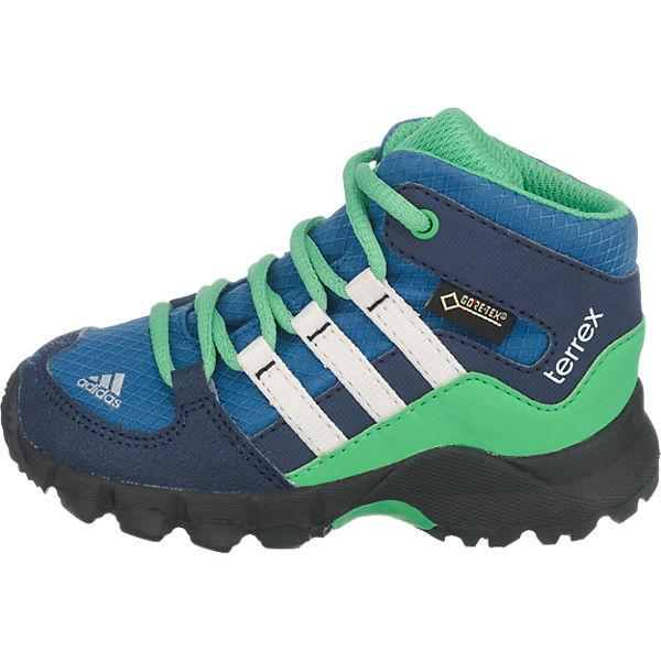 adidas Performance Baby Outdoorschuhe TERREX MID GTX I für Jungen blau/grün