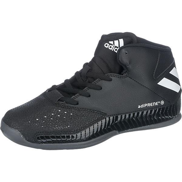 Kiekebusch Angebote adidas Performance Kinder Basketballschuhe Nxt Lvl Spd V schwarz Junge Gr. 30