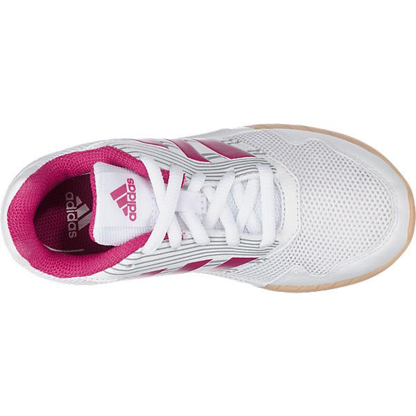 adidas Performance Kinder Laufschuhe AltaRun pink/weiß
