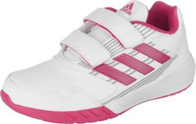 adidas Performance, Laufschuhe AltaRun CF K für Mädchen, weiß