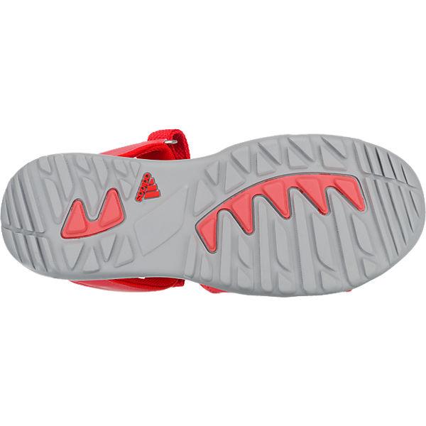 adidas Performance Kinder Outdoorsandalen SANDPLAY OD rot
