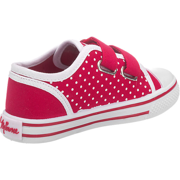 DISNEY MINNIE MOUSE Kinder Halbschuhe rot
