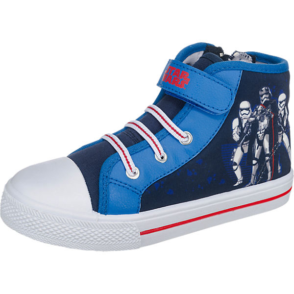 STAR WARS Kinder Sneakers blau
