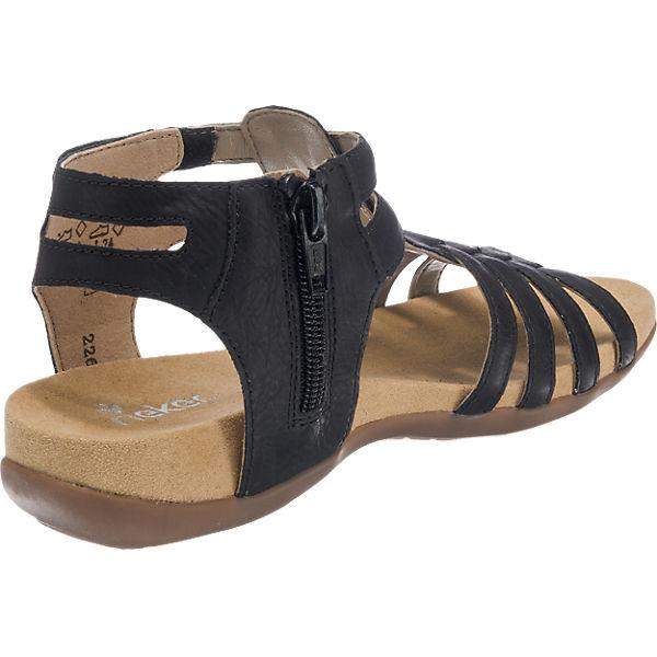 rieker Sandalen für Mädchen schwarz