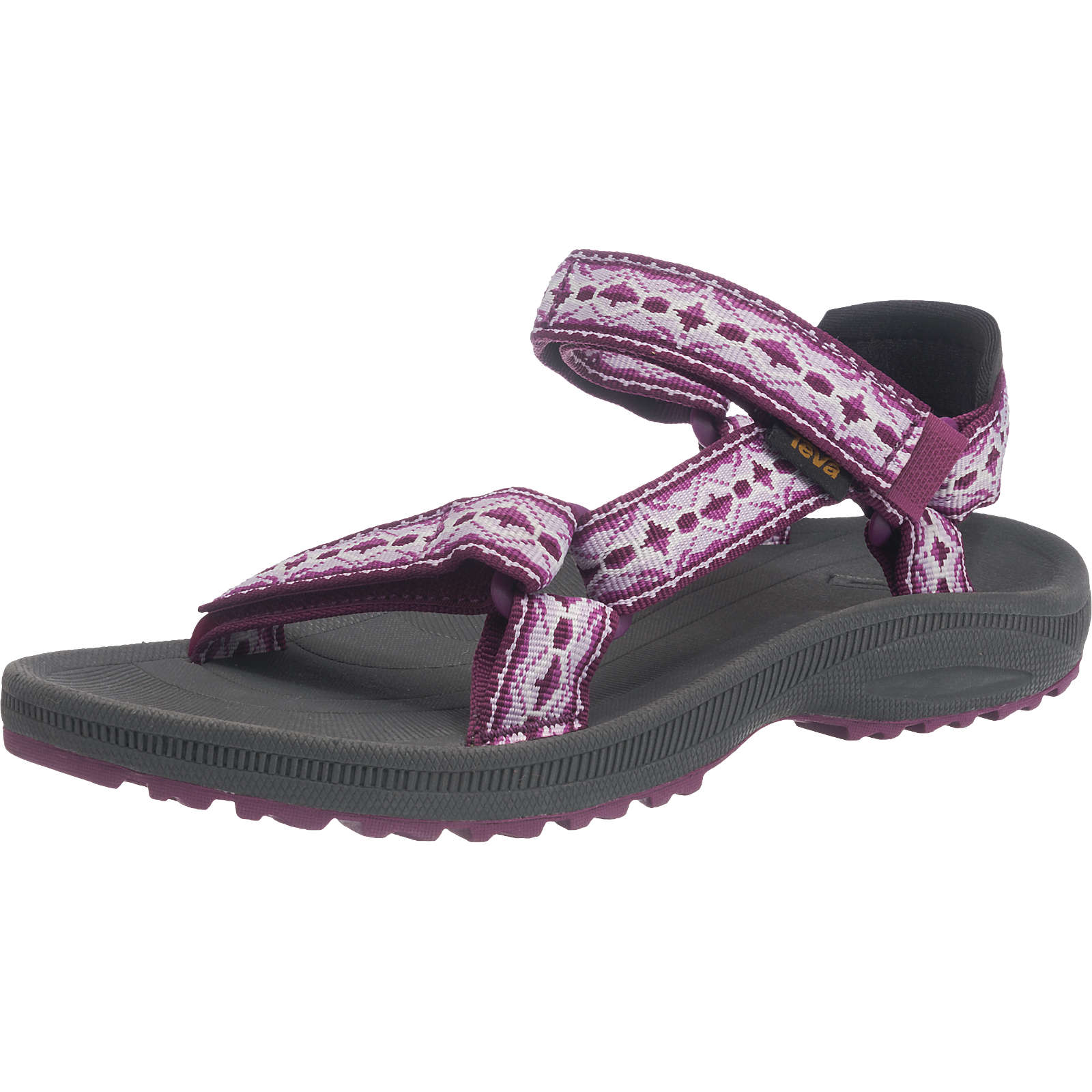 Teva Winsted Outdoorsandalen lila-kombi Damen Gr. 40